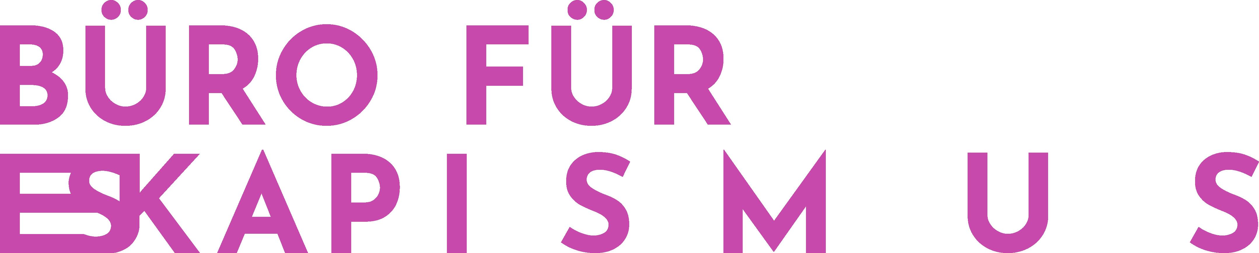 Logo des Büros für Eskapismus
